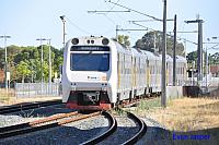 ADP103/ADQ122/ADP101/ADP102 on 2502 Transwa Australind service seen here arriving into Armadale on the 23rd January 2017
