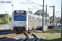 ADP103/ADQ121/ADQ122/ADP102 on 2502 Transwa Australind service seen here arriving into Armadale on the 2nd October 2017