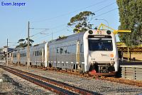 ADP102/ADQ122/ADP101/ADP103 on 3510 Australind service is seen here arriving into Armadale Station on the 28th January 2014