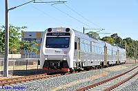 ADP103/ADQ122/ADP101 on 7510 Australind service seen here arriving into Armadale station on the 10th January 2015