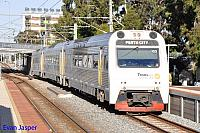 ADP103/ADQ122/ADP101 on 4510 Australind service seen here heading though Mciver Station for Perth on the 19th November 2014