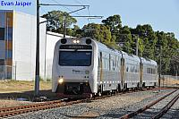 ADP103/ADQ122/ADP102 on 5510 Australind service seen here arriving into Armadale on the 13th December 2018