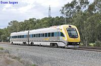 WDA001 WDB011 on 3015 empty Prospector set from East Perth to Kewdale seen here heading though Hazelmere on the 5th May 2020