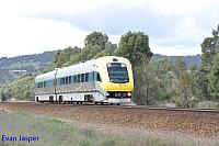 WDB012/WDA002 on 7484 Transwa Prospectror service seen here heading though Brigadoon on the 20th June 2015